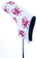MD Golf Welsh Dragon Putter Headcover
